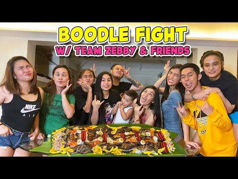 BOODLE FIGHT WITH TEAM ZEBBY, CONCON, RANA & OTHERS   ZEINAB HARAKE