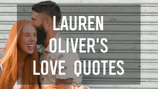 Love Quotes by Lauren Oliver