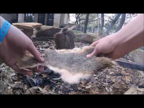 How to Smoke Small Pieces of Animal Hides