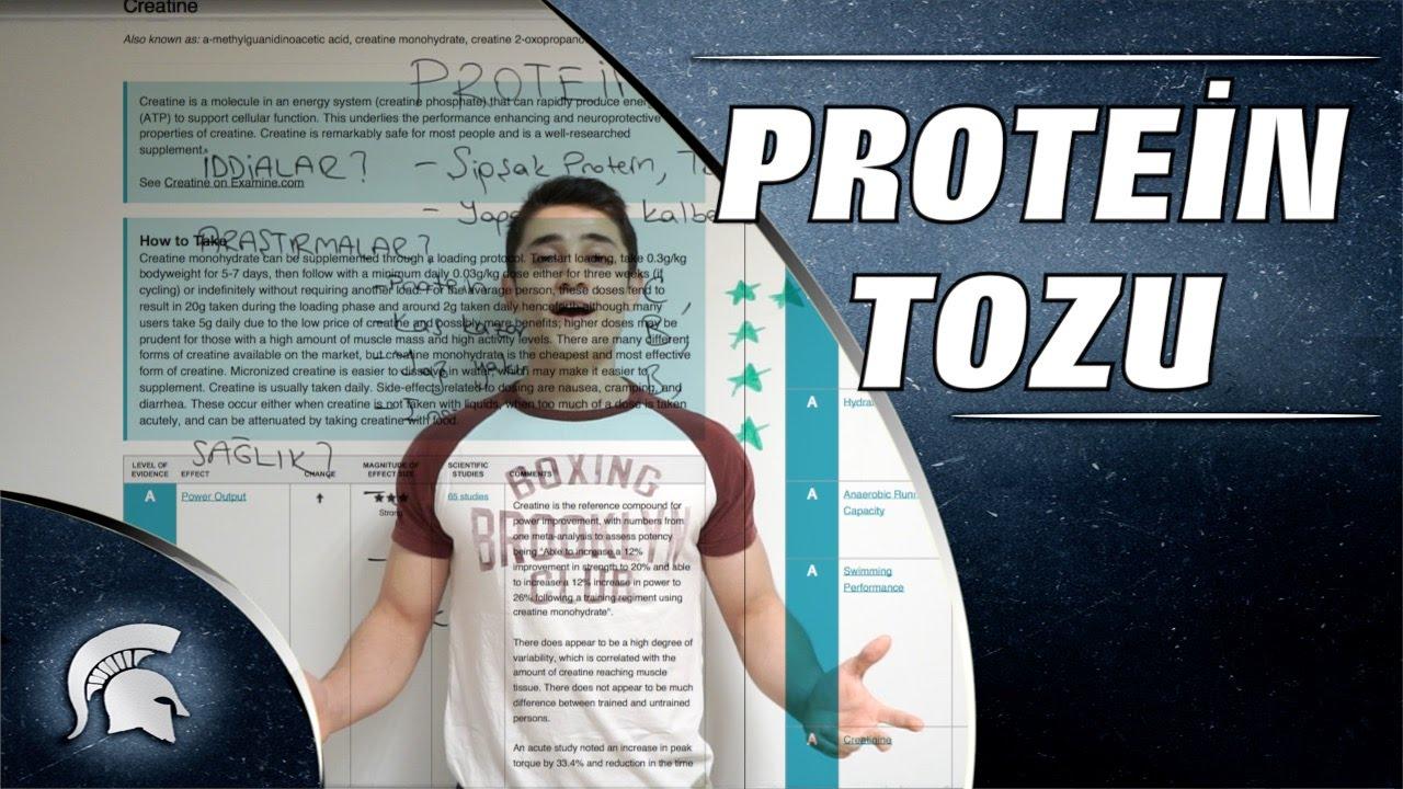 Protein tozu zayıflatır mı