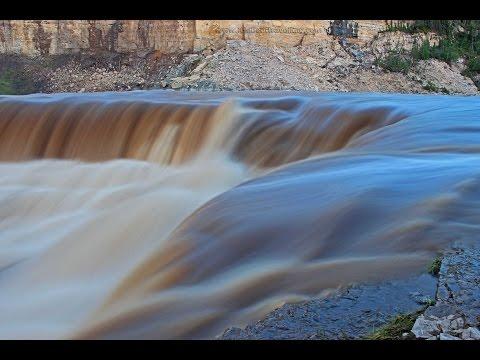 Louise Falls in Canada