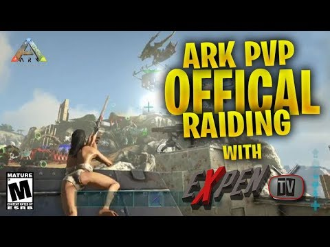 ARK PVP OFFICIAL DEFENDING VVV AGAINST WW&SRU&ADA   (RATED M)[Ps4Pro]