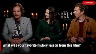 Cinemark Interviews Benedict Cumberbatch and the Cast of Current War: Director's Cut
