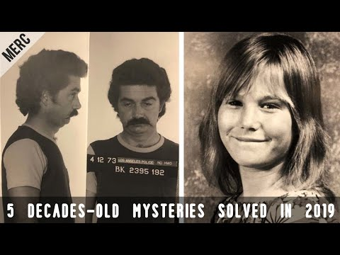 5 Decades-Old Cold Cases Solved In 2019