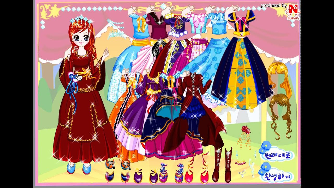Game Thời trang công chúa Barbie dòng game thời trang bạn gái