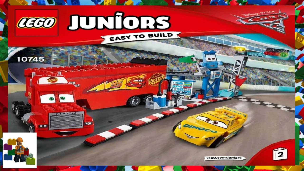 Lego Instructions Juniors Cars 3 10745 Florida 500 Final