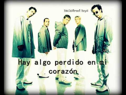 Backstreet Boys Show me the meaning of being lonely (traducida al español)