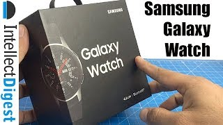Samsung Galaxy Watch Newest Model Unboxing And Quick Review