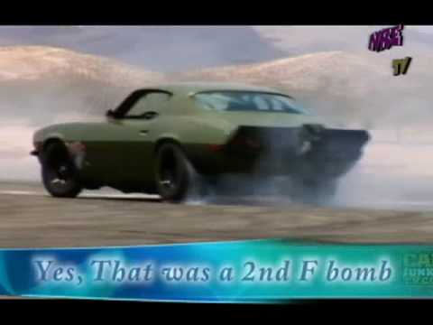 """F Bomb"" Camaro.  Fast and Furious at Willow Springs.  NRE.  Tom Nelson.  Veritas Movie Studio."