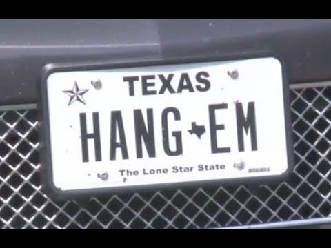 DA Can't Use 'Hang Em' License Plate Anymore