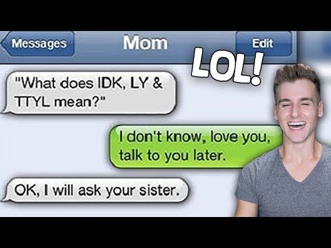 Funniest Texts From Mom!