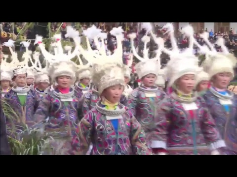 LIVE: Miao ethnic group celebrates traditional New Year fest