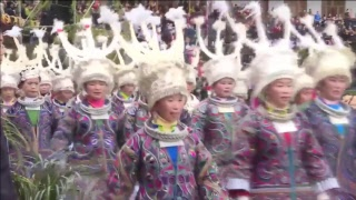 LIVE: Miao ethnic group celebrates traditional New Year festival in Guizhou, China