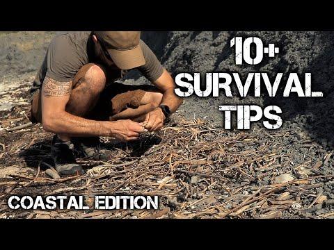 10 Wilderness Survival Tips: Ocean Survival, Foraging, Wild Edibles | Coastal Edition