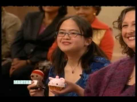 Amigurumi Kingdom on The Martha Stewart Show