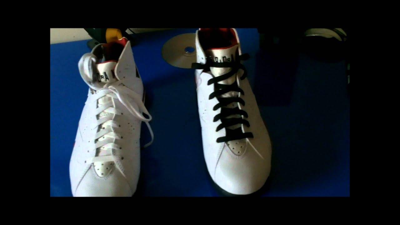 best loved c7b13 6be69 Air Jordan 7 Cardinal (Black or White Laces)