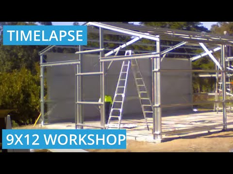 Roys Sheds Constructs 9m X 12m X 3.8m Shed in Maida Vale, WA 6057