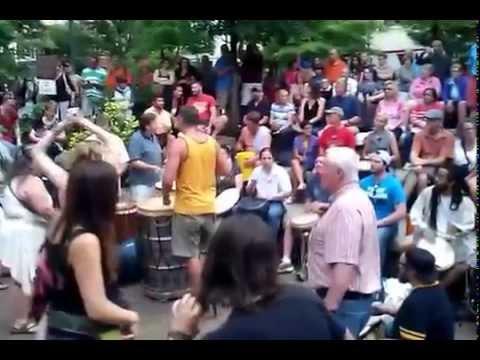 Asheville NC Drum Circle (June 12 2015)