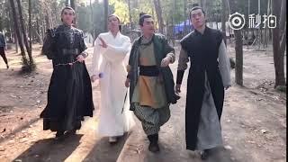 【扶搖片場花絮】江南四大才子之烈王戰北野(高偉光) Legend Of Fu Yao