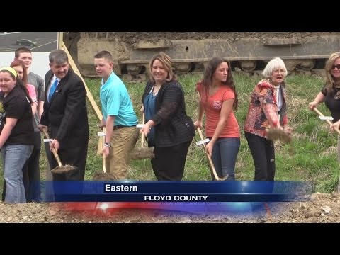 Groundbreaking ceremony held for site of Floyd Central High School