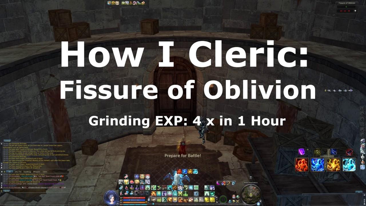 Oblivion Cleric