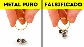 12 Trucos útiles para identificar joyería falsa