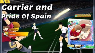 Captain Tsubasa Dream Team! PvP!  Raphael The Carrier and Pride Of Spain