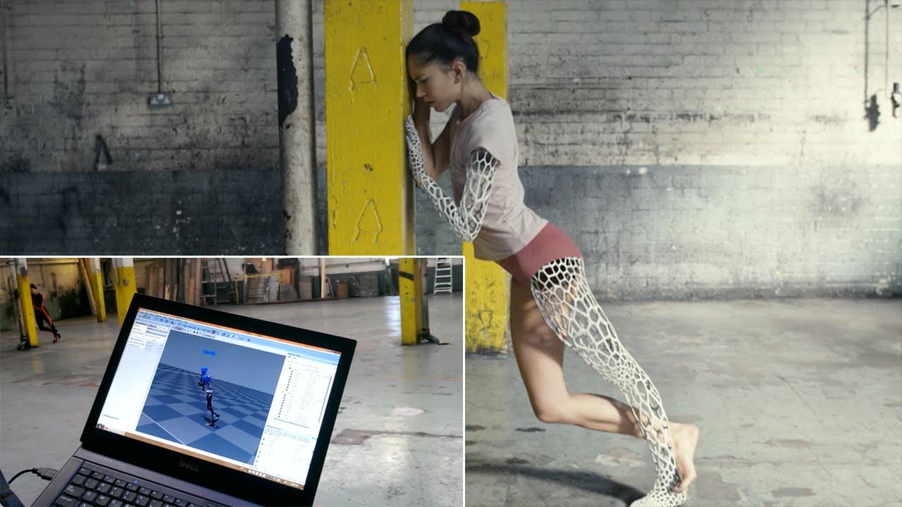 Motion capture - Xsens 3D motion tracking