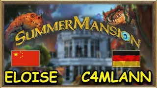 Hearthstone Summer Mansion - C4mlann vs Eloise