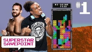 NXT's Dash Wilder takes on Tye Dillinger & Angelo Dawkins in Tetris! Pt. 1— Superstar Savepoint