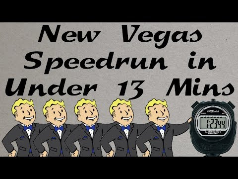 Fallout: New Vegas Beaten in Under 13 Minutes (Heavy Commentary - Any% Speedrun) thumbnail
