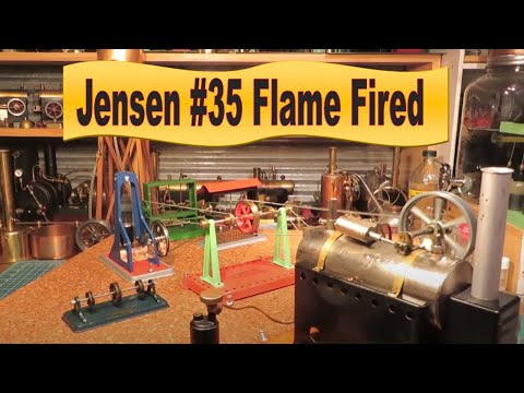 Jensen #35 Steam Engine - Working multiple Stamping Mills