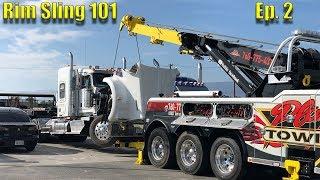 Lifting Trucks With No Lift Pins | Rim Sling 101 | Ep 2