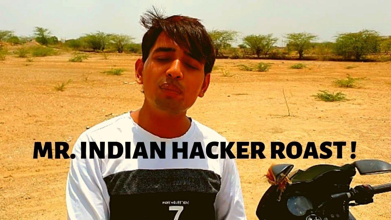 Mr  INDIAN HACKER ROAST || Aloo Chana