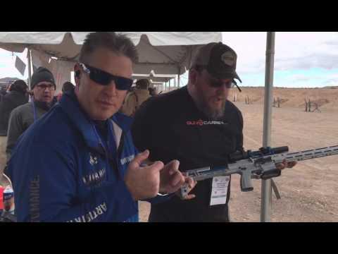 Keith Garcia with Cobalt Kinetic shooting demo