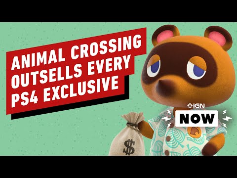 Animal Crossing New Horizons Outsold Every PS4 Exclusive in 3 Months - IGN Now