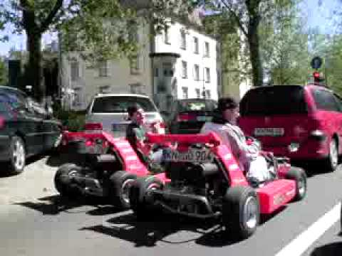 gokart in konstanz mit strassenzulassung part 1 youtube. Black Bedroom Furniture Sets. Home Design Ideas