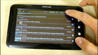 Cvs Craig Cmp738a Wireless Touchscreen Android Tablet Overview