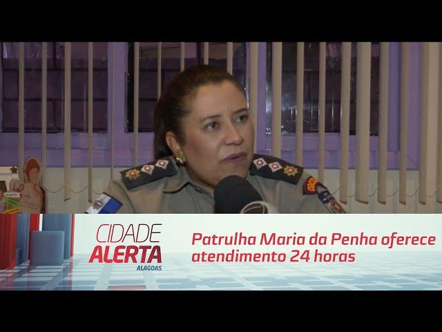 Patrulha Maria da Penha oferece atendimento 24 horas