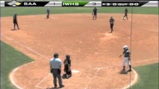 tapps 5a softball state championships san antonio incarnate word vs houston st agnes