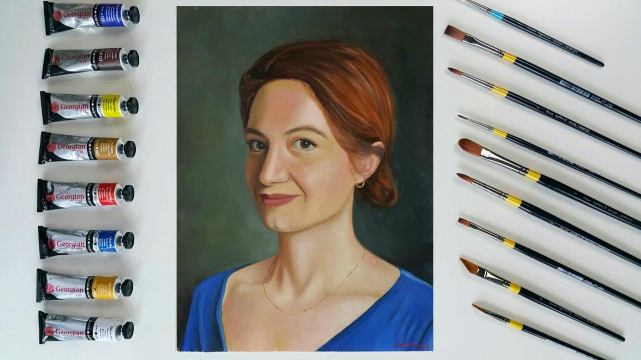 Yağlı Boya Portre Nasıl Çizilir?