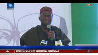 The Next Level: Fashola Highlights Completed Infrastructure Projects |Live Event| thumbnail