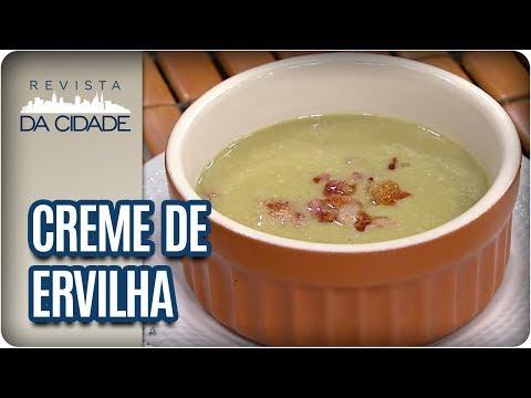 Receita De Creme De Ervilha - Revista Da Cidade (21/08/2017)