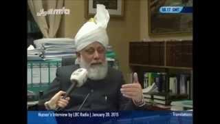 Interview du Calife par la chaîne LBC