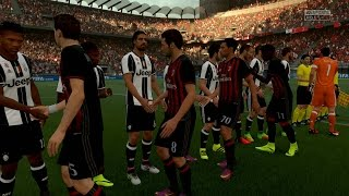 FIFA 17 | AC Milan vs Juventus F.C. - Full Gameplay (PS4/Xbox One)