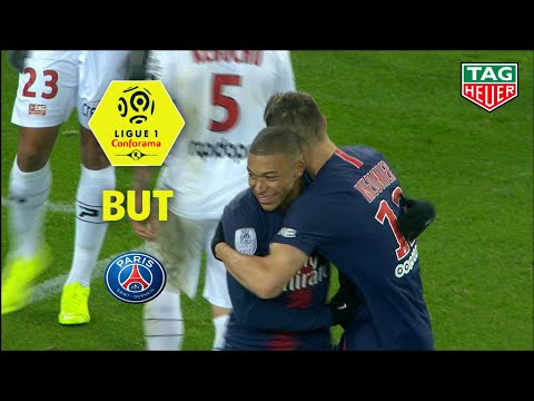 But Thomas MEUNIER (83′) / Paris Saint-Germain – EA Guingamp (9-0)  (PARIS-EAG)/ 2018-19