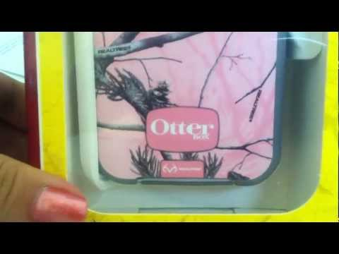 OtterBox Defender Series/Pink Camo Case-(Iphone 4/4s) ~ Unboxing