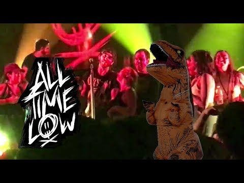 """All Time Low - """"Time Bomb"""" at HOB Orlando 8/7/2017"""