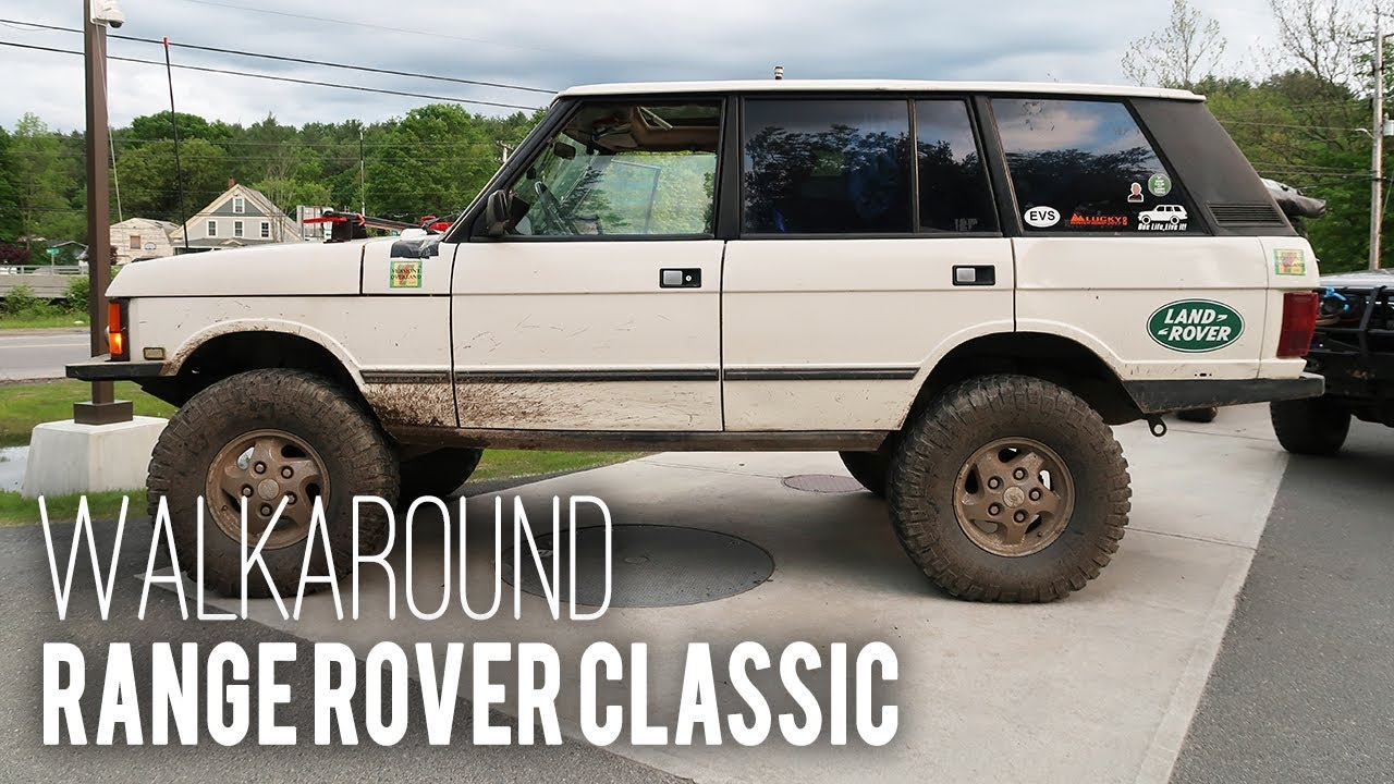 Built 4 Adventure - Walkaround: Range Rover Classic
