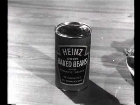 1955 Heinz 57 Oven Baked Beans TV advert - Scotch beans ...